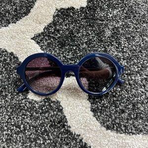 Dark Blue Reality Eyewear Sunglasses
